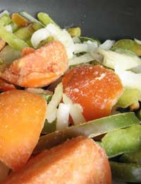 Freezer Recipe Vegetables Vegetable Diet