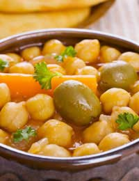 Vegetables Recipes Meals Chickpeas
