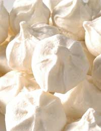Meringues Dessert Egg Icing Sugar Cream