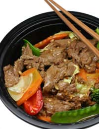 Cook Beef Meat Fry Stir-fry Simple Quick