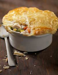 Chicken And Ham Pie Chicken Pie Ham Pie